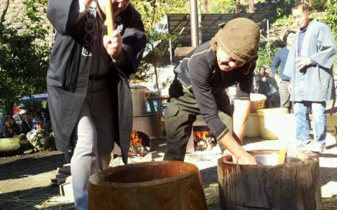 極楽寺 熊野神宮元旦祭