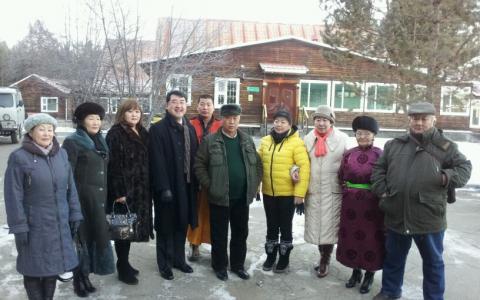 モンゴル(エルデネト)訪問